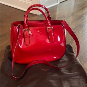 Kate Spade Red Patent Leather Bag